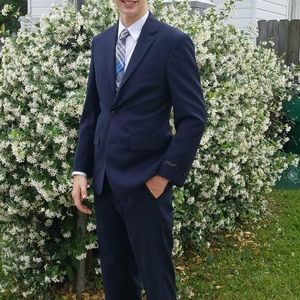 Other - Navy blue suit. With pants